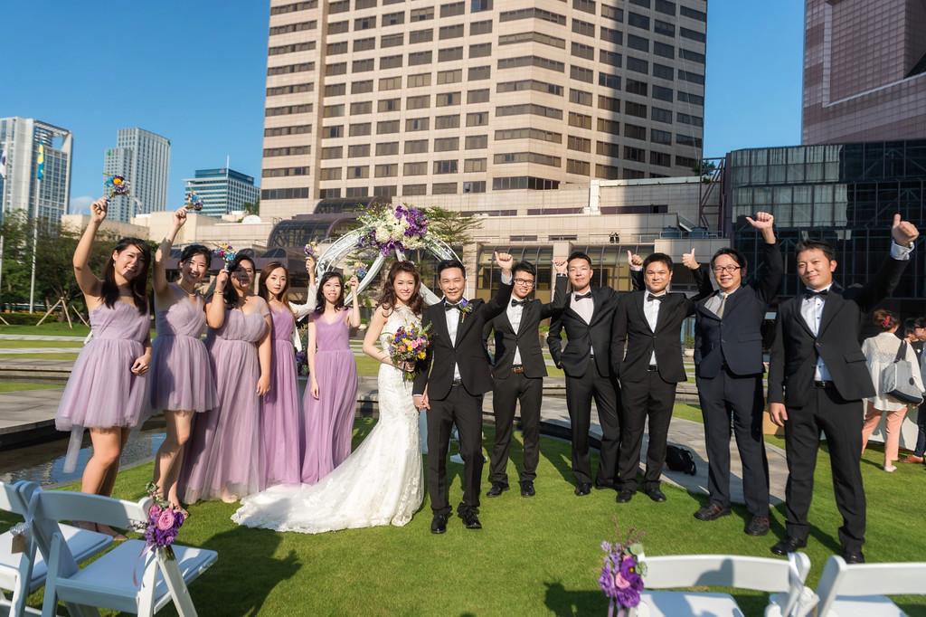 婚禮紀錄, 婚攝小望, 劉小望, 戶外證婚, 世貿33